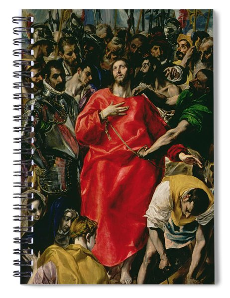 The Disrobing Of Christ Spiral Notebook