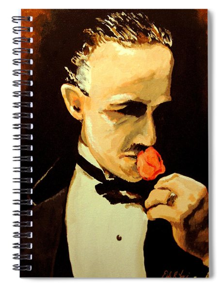 The Don And The Rose Spiral Notebook