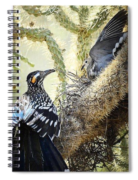 The Dove Vs. The Roadrunner Spiral Notebook