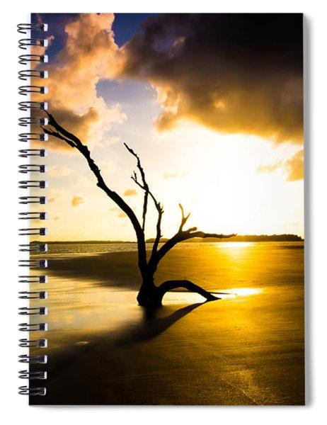 The Driftwood Tree Folly Beach Spiral Notebook