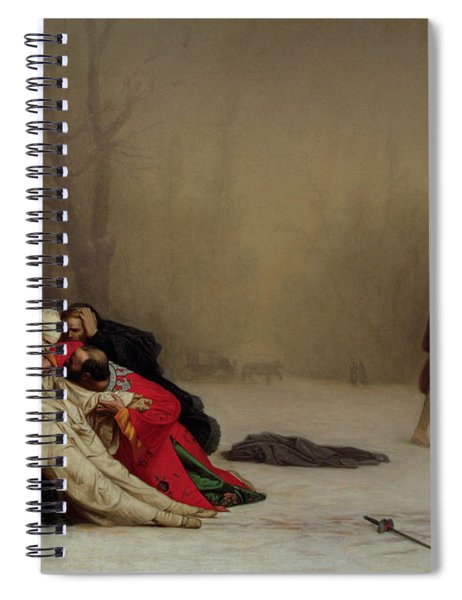 The Duel After The Masquerade Spiral Notebook