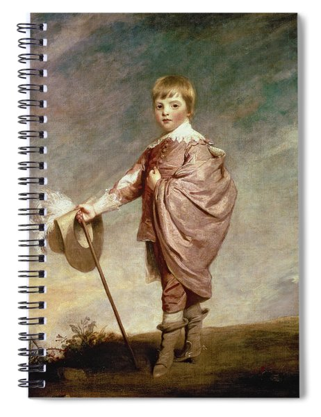 The Duke Of Gloucester As A Boy Spiral Notebook
