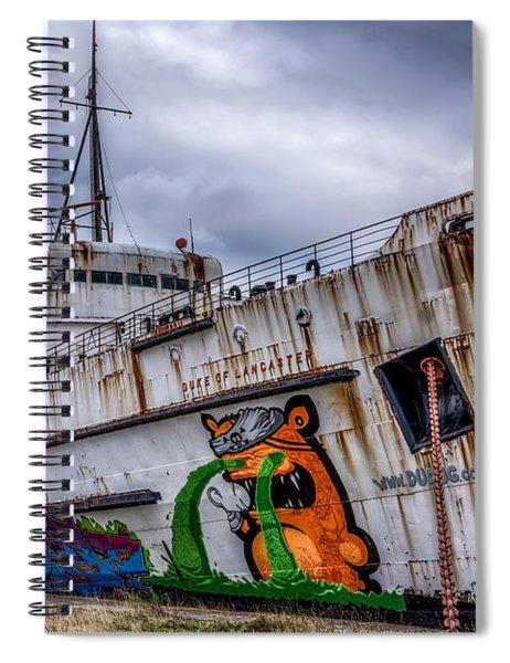 The Duke Of Lancaster Spiral Notebook