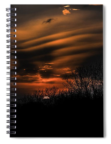 The Edge Of Night Spiral Notebook