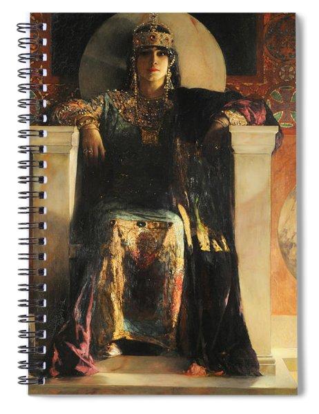 The Empress Theodora Spiral Notebook