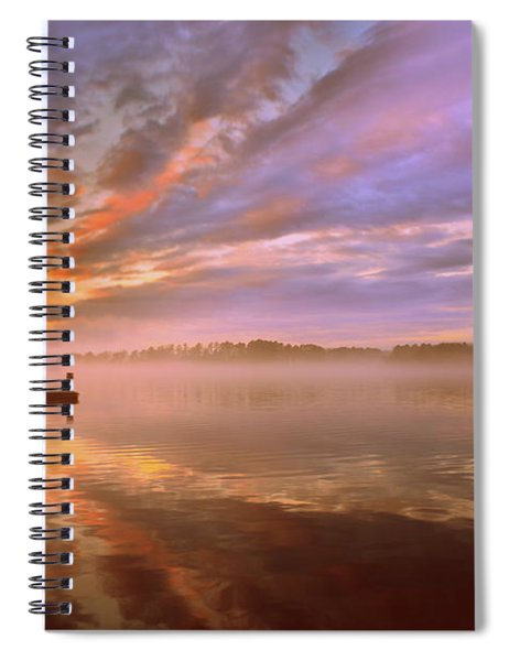 The End Spiral Notebook