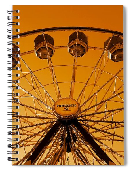 The End Of Summer Spiral Notebook