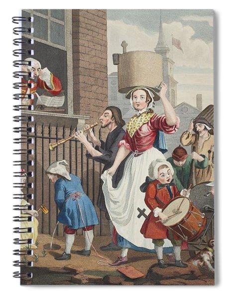 The Enraged Musician, Illustration Spiral Notebook