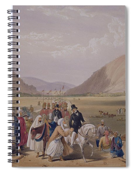 The Entrance Into Caubul Spiral Notebook