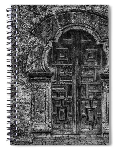 The Mission Door Spiral Notebook