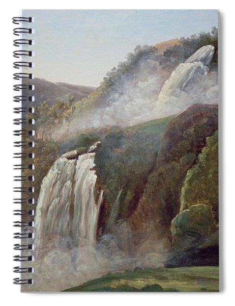 The Falls At Terni Spiral Notebook