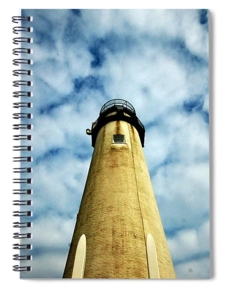 The Fenwick Light And A Mackerel Sky Spiral Notebook