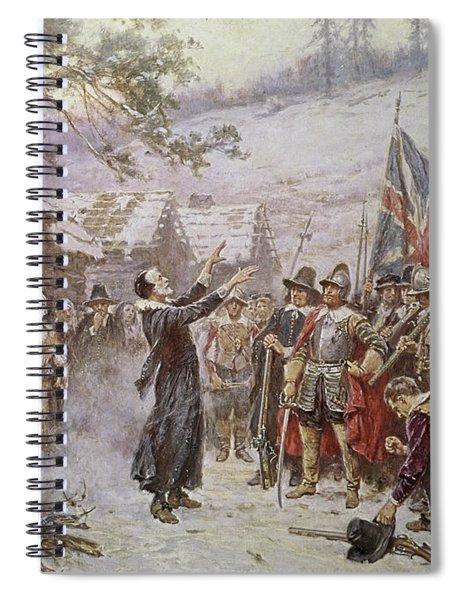 The First Sermon Ashore Spiral Notebook