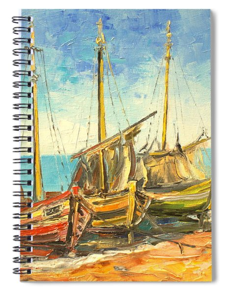 The Fishing Cutters Spiral Notebook