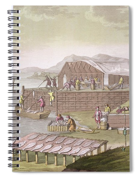 The Fishing Industry In Newfoundland Spiral Notebook