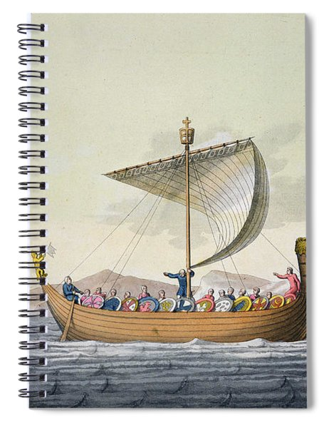 The Fleet Of William The Conqueror Spiral Notebook