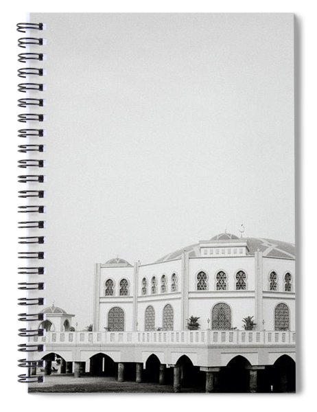 The Floating Mosque Spiral Notebook