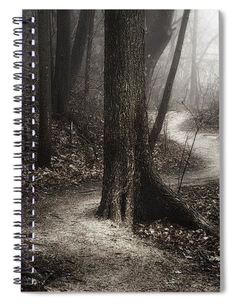 The Foggy Path Spiral Notebook