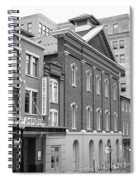 The Ford Theater  Spiral Notebook