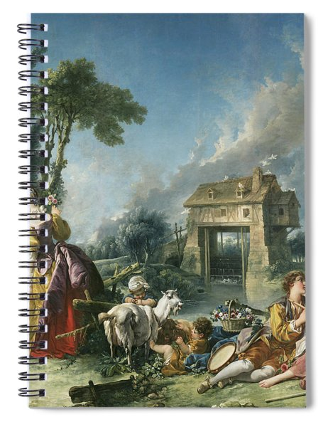 The Fountain Of Love Spiral Notebook