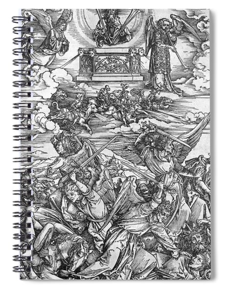 The Four Vengeful Angels Spiral Notebook