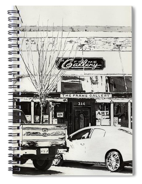 The Frame Gallery Spiral Notebook