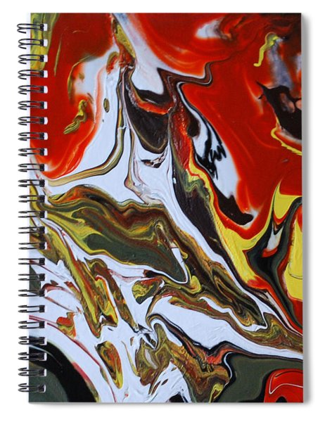 The Free Spirit 3 Spiral Notebook