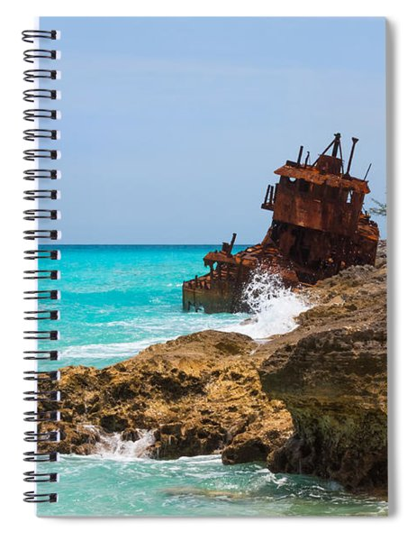 Spiral Notebook featuring the photograph The Gallant Lady by Ed Gleichman