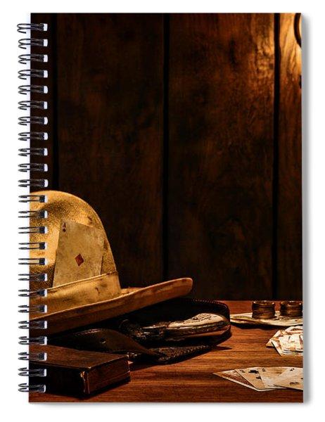 The Gambler Spiral Notebook