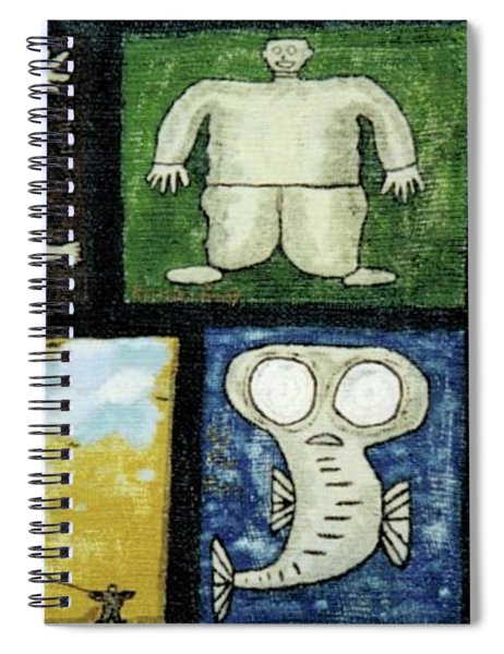 The Gang Of Five Spiral Notebook