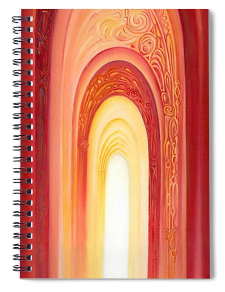 The Gate Of Light Spiral Notebook