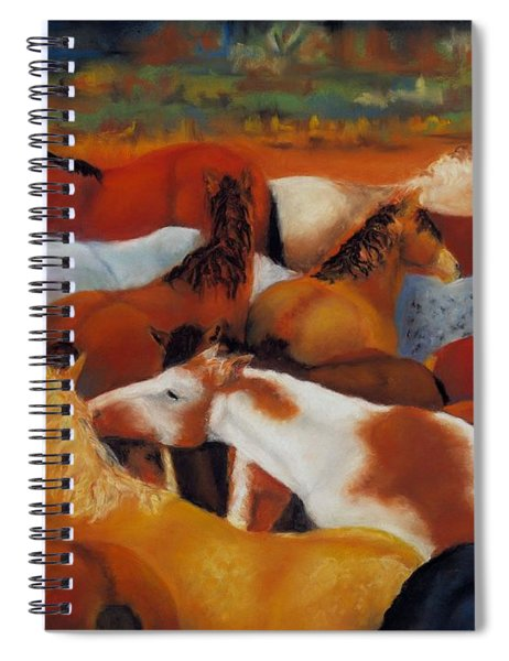 The Gathering Spiral Notebook
