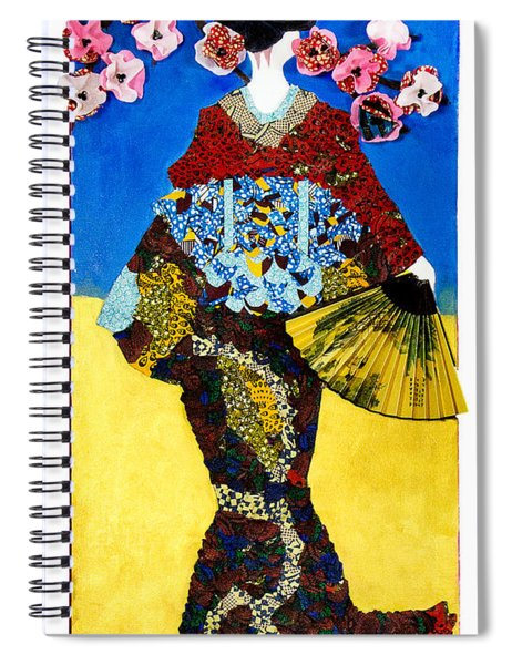 The Geisha Spiral Notebook