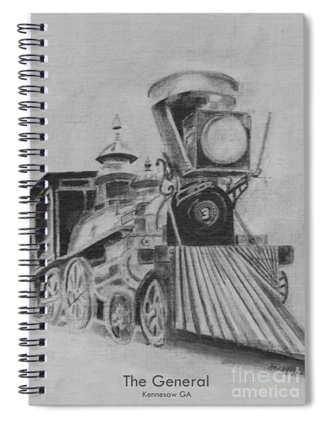 The General - Train - Big Shanty Kennesaw Ga Spiral Notebook