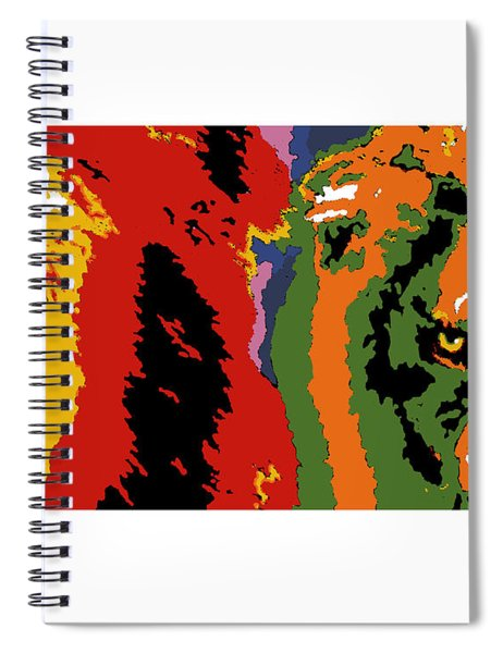 The Ghost And The Darkness Spiral Notebook