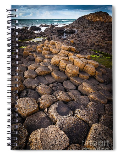 The Giant's Causeway - Rocky Road Spiral Notebook