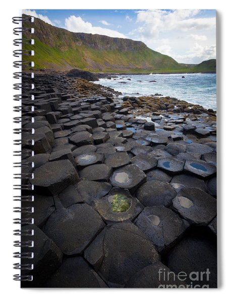The Giant's Causeway - Staircase Spiral Notebook
