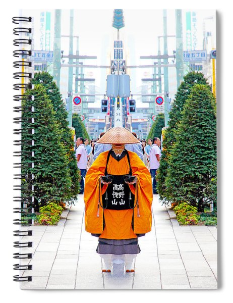 The Ginza Monk Spiral Notebook