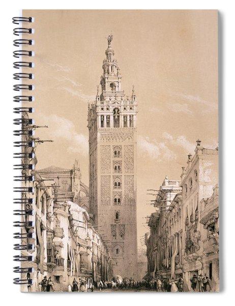 The Giralda, Seville Spiral Notebook