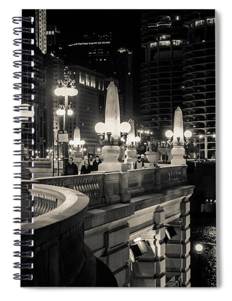 The Glow Over The River Spiral Notebook