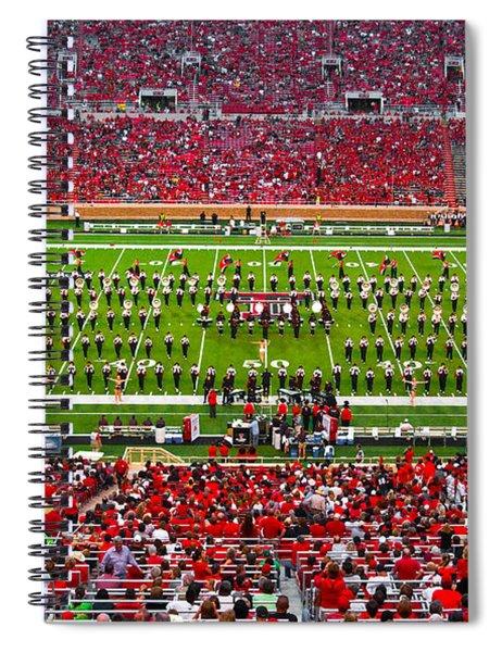 The Going Band From Raiderland Spiral Notebook by Mae Wertz