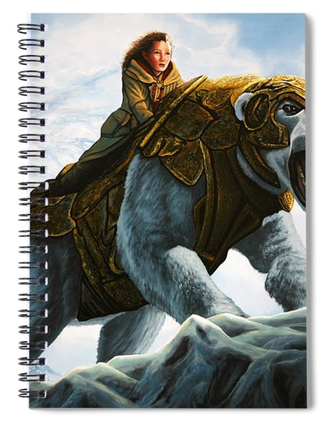 The Golden Compass  Spiral Notebook