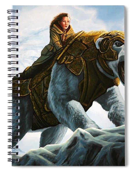 The Golden Compass  Spiral Notebook