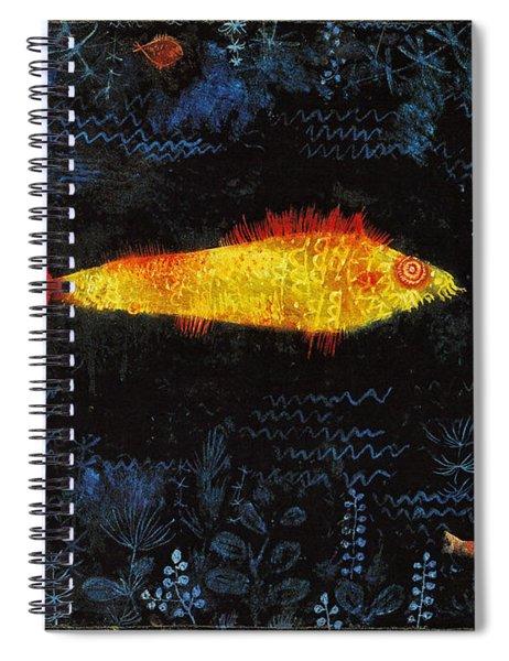 The Goldfish Spiral Notebook