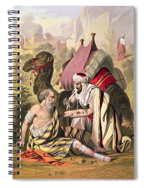 The Good Samaritan, From A Bible Spiral Notebook
