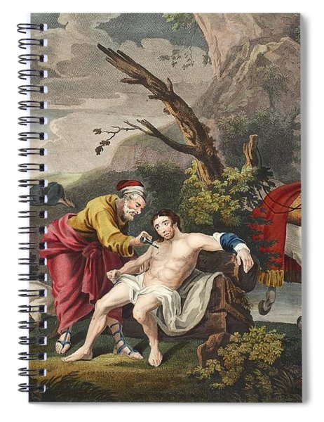 The Good Samaritan, Illustration Spiral Notebook