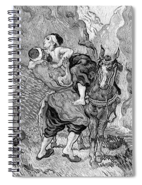 The Good Samaritan Spiral Notebook