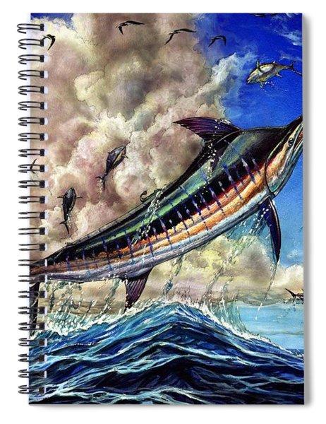 The Grand Challenge  Marlin Spiral Notebook