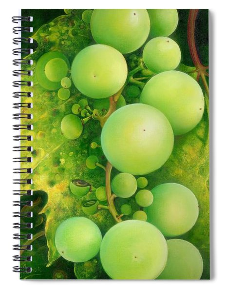 The Grapes Spiral Notebook