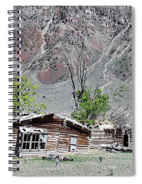 The Grass Is Greener When It's Growing On The Roof Spiral Notebook